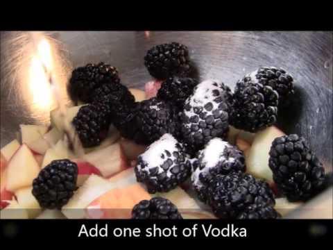 Blackberry Pulp Sangria