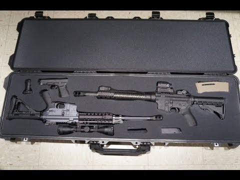 How to cut and prepare foam in a Pelican Case \\ Innovative Defensive Solutions, llc