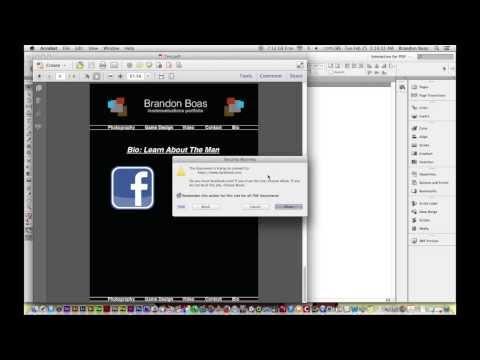 Creating HyperLinks in Adobe InDesign
