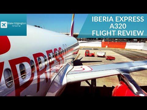 IBERIA EXPRESS | Airbus A320 | Economy Class | Madrid to Malaga | Flight review