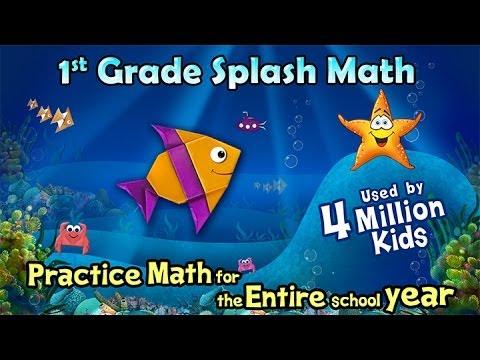 Splash Math - First Grade Android App - Quick Tour for Parents & Teachers