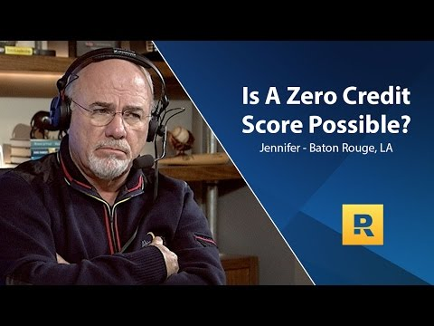 Is A Zero Credit Score Possible?