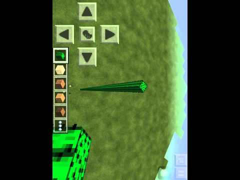 How to make raining cactus in minecraft pocket edition