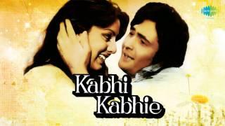 Tere Chehre Se Nazar Nahi - Kishore Kumar - Lata Mangeshkar - Kabhi Kabhie [1976]