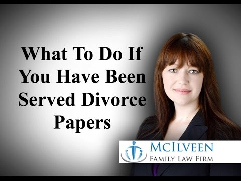What To Do If You Been Served Divorce Papers in North Carolina