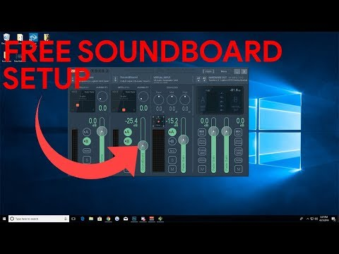 Setting up a Soundboard for Games, VRCHAT & Discord! FREE! - PakVim