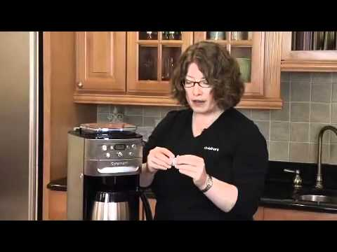 Cuisinart Burr Grind & Brew Thermal 12-Cup Automatic Coffeemaker (DGB-900BC) Demo