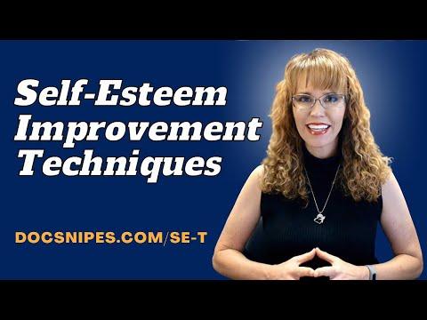 Self Esteem Techniques by  McKay