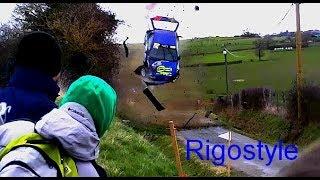 Best of rallye 2017 crash on the limit by Rigostyle #rally #bestof #crash