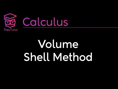 [Calculus 2] Volumes with Cylindrical Shells