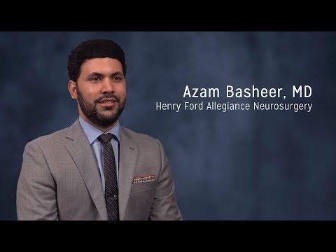 Azam Basheer, MD - Neurosurgeon, Henry Ford Allegiance Neurosurgery