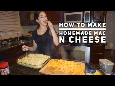 How to make homemade mac n cheese!