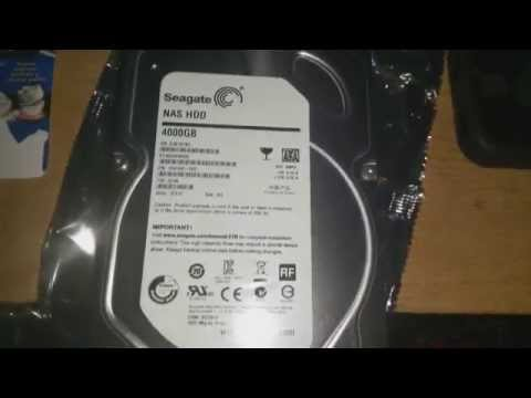 How to install 4tb harddrive on windows 7 and windows 8