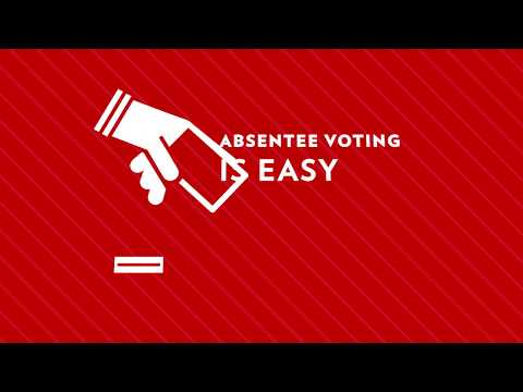 UW-Madison students can vote absentee!