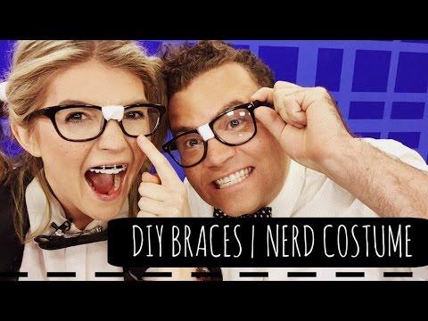 DIY BRACES | NERD COSTUME | HALLOWEEN