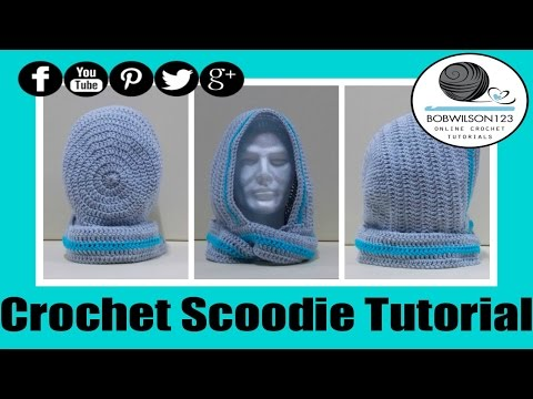 Free Hooded Scarf Workshop Part 3 Crochet Hooded Scarf With Pockets