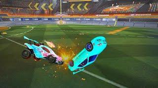 Two players get in a fight in Rocket League, a breakdown