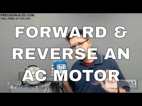 How To Forward And Reverse An AC Motor With The SMV VFD