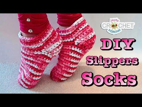 Easy Crochet Slippers or Socks Pattern