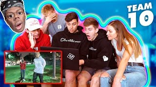 TEAM 10 REACTS TO KSI DRAMA!!