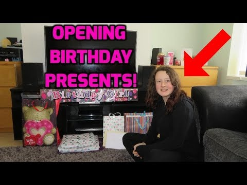 Prankster Kids 14th Birthday Presents! May's Opening Presents!