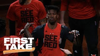 First Take Analyzes Jimmy Butler Trade Between Bulls And Timberwolves | First Take | June 23, 2017