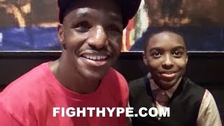 """DEVON ALEXANDER CELEBRATES VICTORY AFTER 2-YEAR LAYOFF; DISCUSSES PERFORMANCE: """"I FEEL LIKE MYSELF"""""""