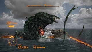 Godzilla (ps4) - God Of Destruction Mode With Unstoppable Biollante - All Hard