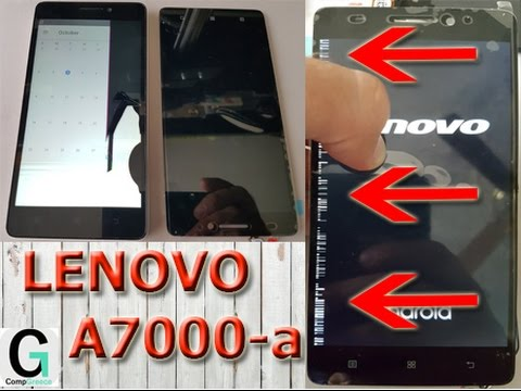 Lenovo A7000 Disassemble and Touch Screen Digitizer Assembly. Пошаговая разборка Lenovo A7000.