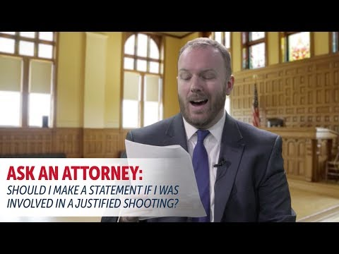 Ask An Attorney: Should I Make A Statement To The Police?