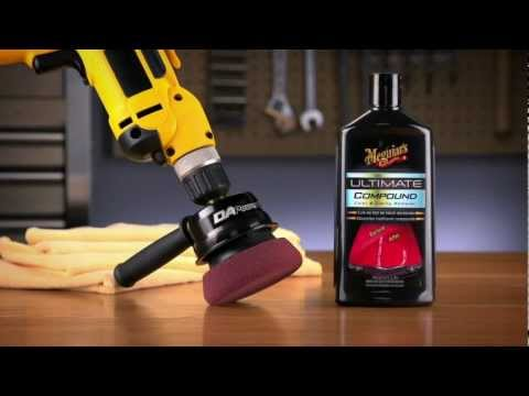 Easy Swirl Marks Removal with Meguiar's® Dual Action Power System