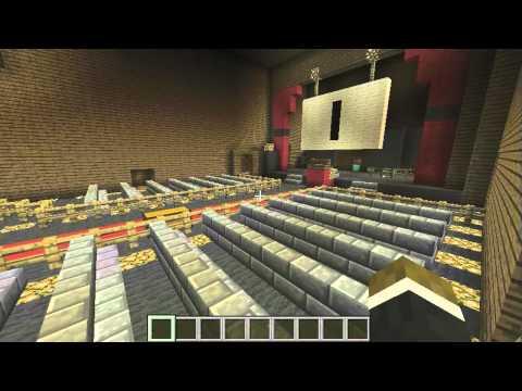 Minecraft: Call of Duty Nazi Zombies Kino Der Toten Remake!