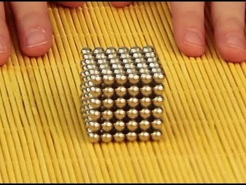 Buckyballs Tricks Cube How to make a Cube