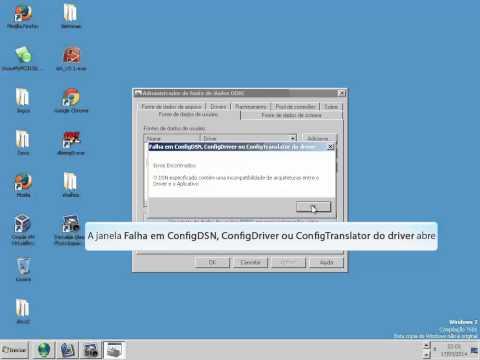 Configuração Driver Sybase no ODBC  para não dar erro de conexão no BDE via Delphi