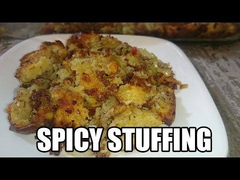 Spicy Sausage Stuffing Recipe   Episode 124