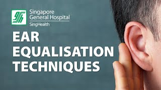 Ear Equalization Techniques - Valsalva Maneuver - SingHealth Healthy Living Videos