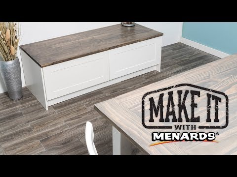 Dining Room Bench - Make It With Menards