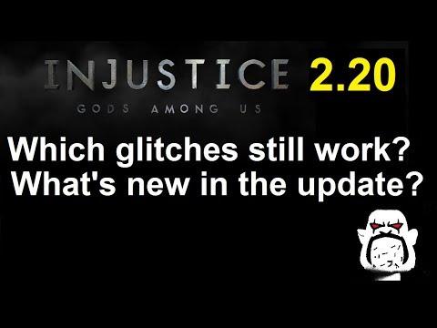 Injustice GAU Update 2.20 Recap: Which Glitches Still Work? Plus New Content