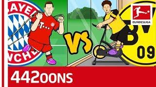 Der Klassiker: FC Bayern München vs. Borussia Dortmund - Powered by 442oons