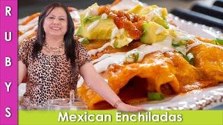 Mexican Chicken Enchiladas Recipe in Urdu Hindi - RKK
