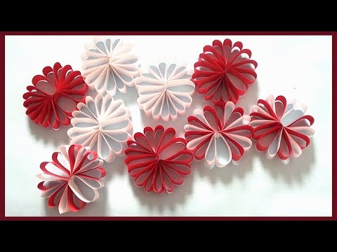 DIY Wall Decor | Christmas Room Decoration |Simple Paper Crafts