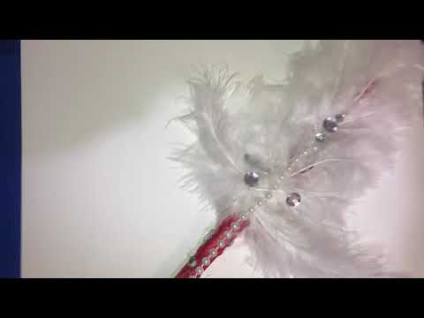 DIY feather bouquet Vlogmas Day 18