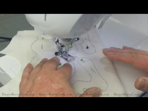 Sewing and Trimming Fabric for Primitive Doll Patterns