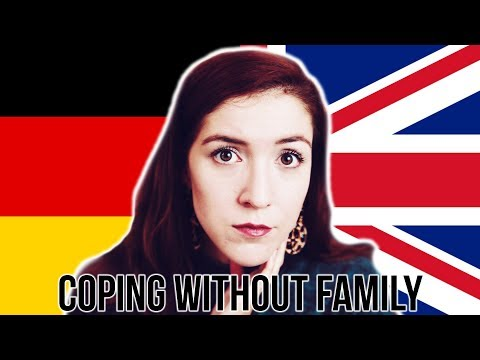 How I feel not seeing my family very much since I moved to London! #germangirlinlondon