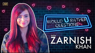 Zarnish Khan | Would You Rather Questions | NJ Digital Tv | HD