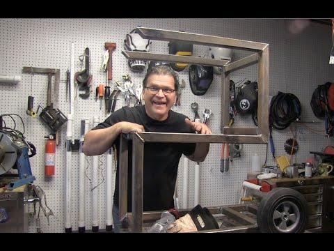Welding Cart Project - Open Concept