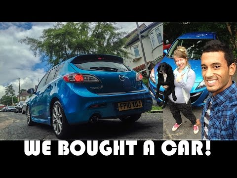 WE BOUGHT A CAR! UK DAILY VLOG MOVING TO PORTUGAL DAILY VLOG (ADITL EP330)