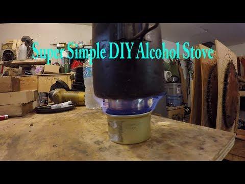 Super Simple DIY Alcohol Stove