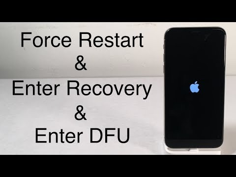 iPhone X / iPhone 8: How to Force Restart, Enter Recovery Mode & DFU Mode