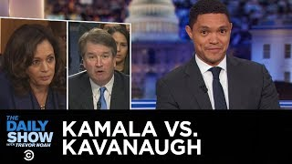 So You Think You Can Judge - Kamala Harris Brings the Heat at Kavanaugh Hearing | The Daily Show